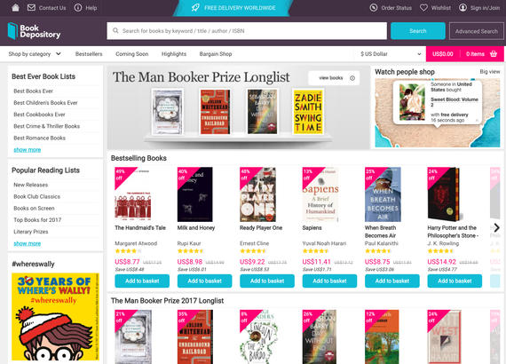 Book Depository is a great online platform for buying textbooks in Hong Kong. Shipping is free although it may take time for your books to arrive, be sure to order your textbooks in advance.