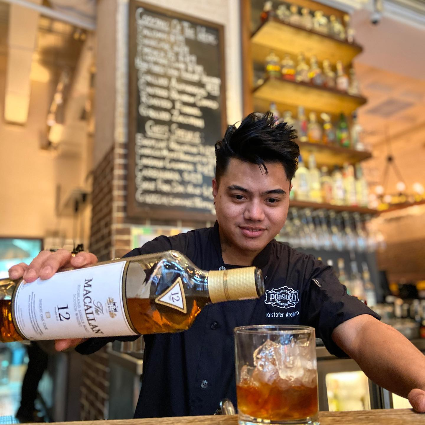 Posto Pubblico has one of the best happy hour deals in Central, Hong Kong.