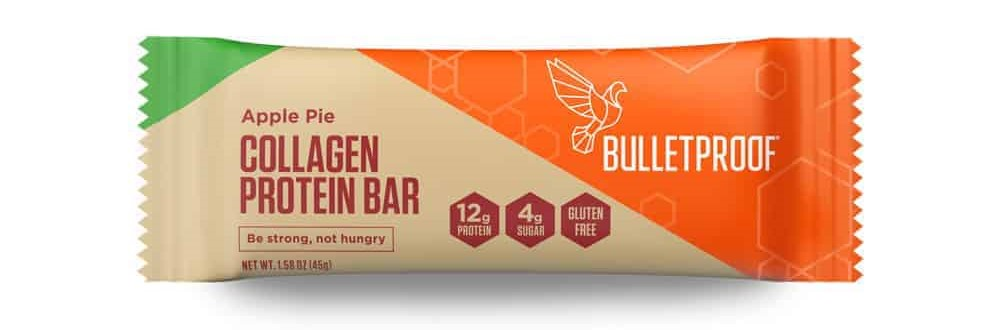 We love eating Bulletproof collagen protein bars as part of a keto diet.
