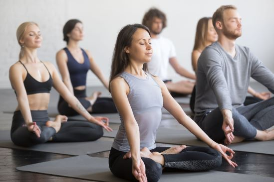 The Yoga Room allows you to try the first class yoga class in Hong Kong for free.