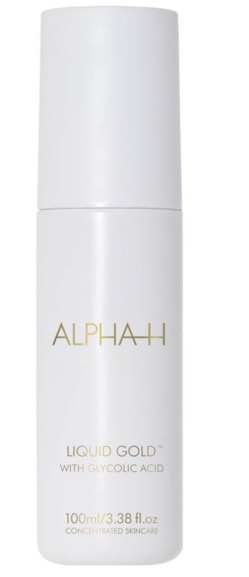 Cult beauty products Alpha H Liquid Gold. This glycolic acid exfoliator gets amazing reviews.
