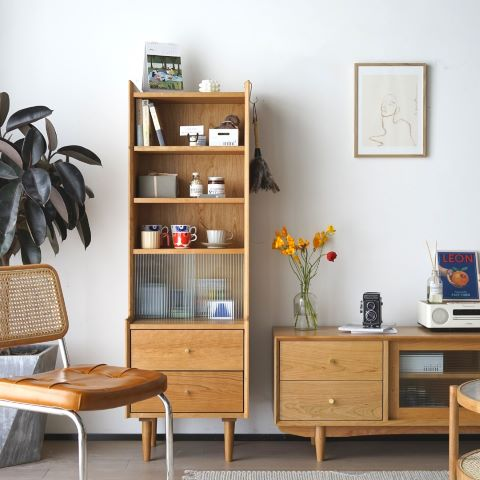 EMOH Design sells high quality Scandinavian wood furniture. The furniture is clean and crisp.