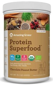 Amazing Grass' Vegan Protein Powder is one of the best tasting plant based protein powders