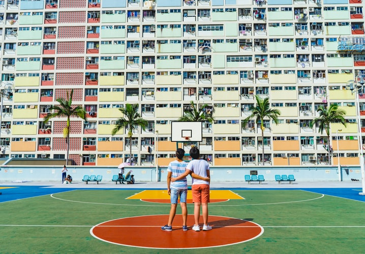Choi Hung Estate, otherwise known as Rainbow Estate, is a popular destination for taking photos. Tick this off your bucket list, take some photos here.