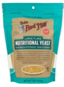 Nutritional yeast is top of the list of vegan essentials