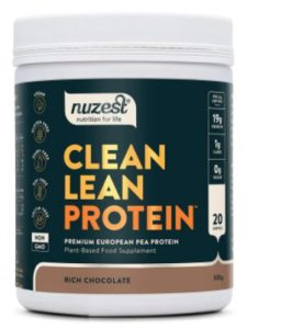 best vegan protein in Hong Kong - Nuzest Clean Lean Protein tastes great and does the job