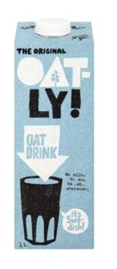 Oatly Oat Milk is my top vegan essential
