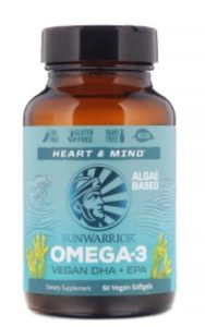 Another vegan essential is omega 3 oil