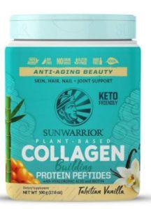 Sunwarrior vegan protein powder with collagen really improved my skin when I tried it.