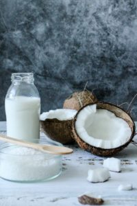 coconut milk is a must have vegan essential