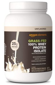 Amazon Elements Gluten Free Protein Powder Unflavored is a high quality powder and not too expensive