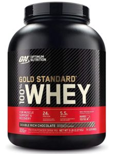 Optimum Nutrition Gold Standard 100% Whey is a great gluten free protein powder
