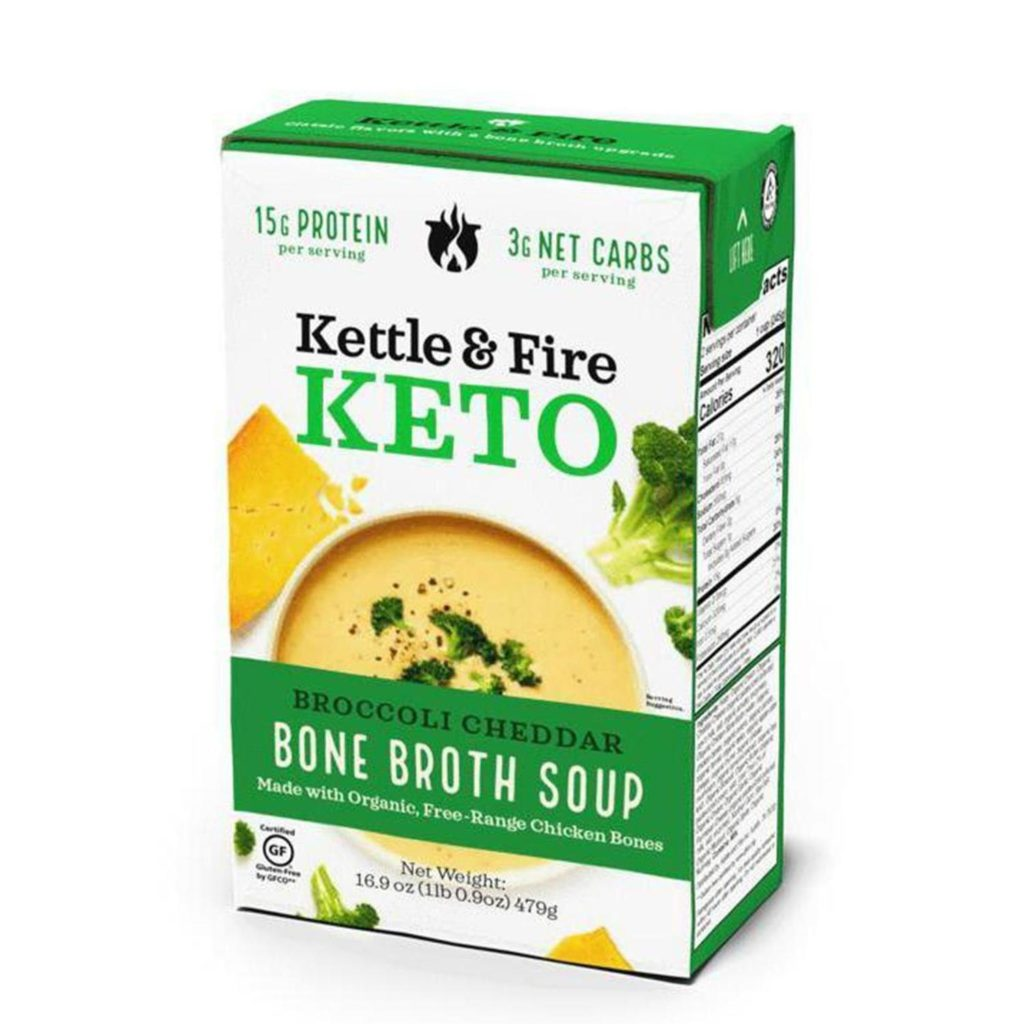 Kettle & Fire Keto Soup is a super hand product to have in your cupboard when you're following a keto diet.