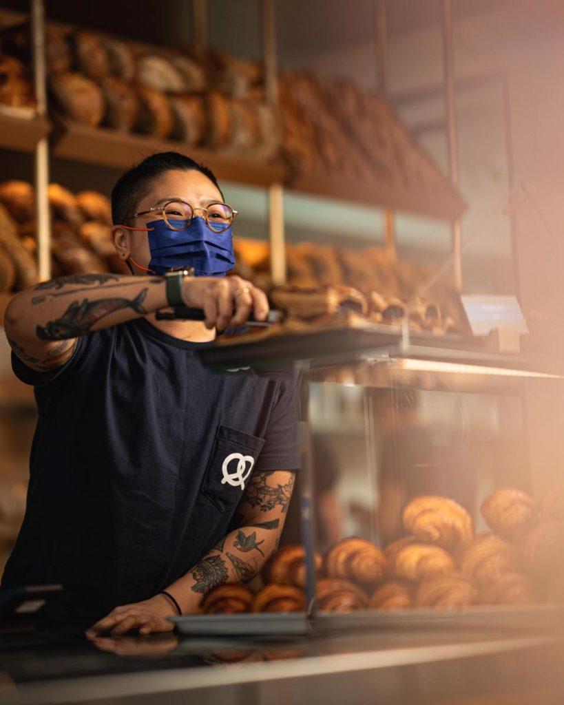 Bakehouse is super popular for breakfast in Hong Kong.