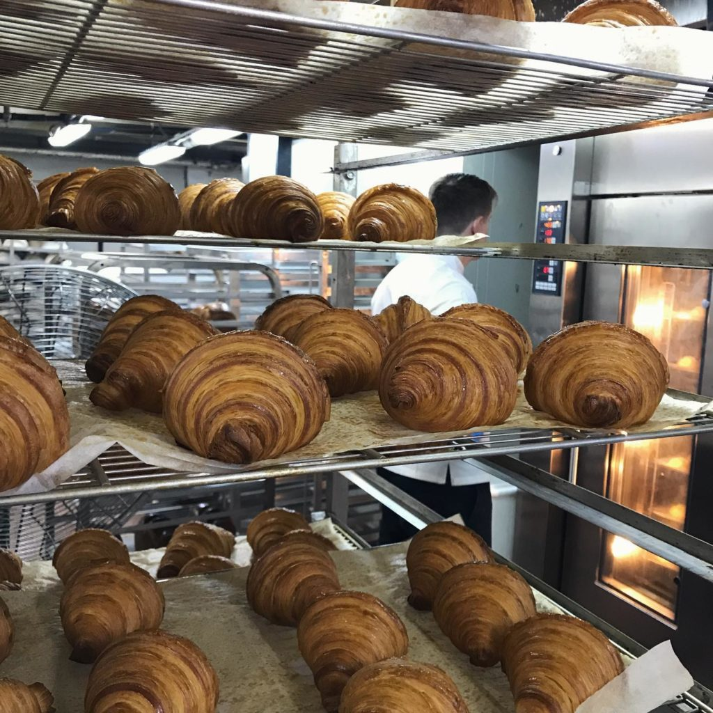 Maison Eric Kayser is a lovely bakery and a good option for breakfast in Hong Kong.