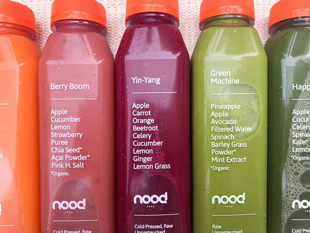If you like juice and raw food, Nood Food is a good option for breakfast in Hong Kong.